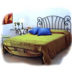 Ковані ліжка односпальні